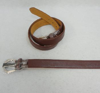 Belt--Wide Brown [USA/Eagle] All Sizes